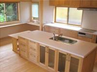 キッチンと手作り家具