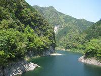 天竜美林を育む天竜川