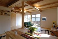 北欧家具も馴染む大井川杉の家