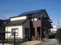 「アイのある家」の大屋根の家
