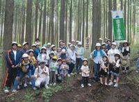 森林木こりツアー参加