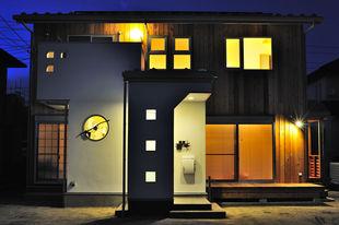 自然素材で仕上げた「エコな家」