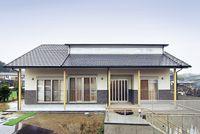光と風を感じる大空間の家