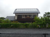ソーラーハウス外観(南西例)