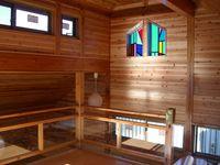 木材を多用した内装