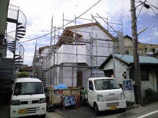 「SE構法で建てるゼロエネルギー住宅」構造見学会